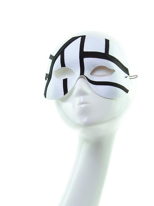 Diversity - White/Black Minimalist Mask