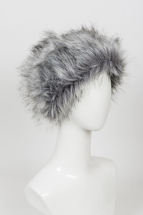 Boden - Grey Fur Hat