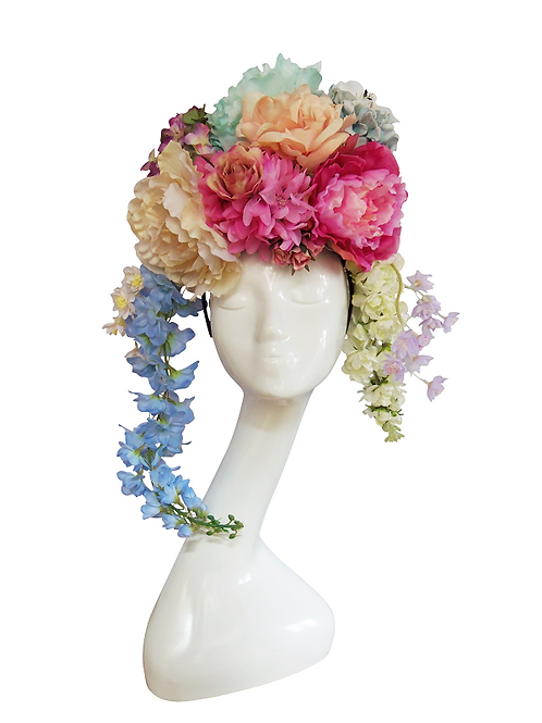 ANTOINETTE - Floral Flower Headdress