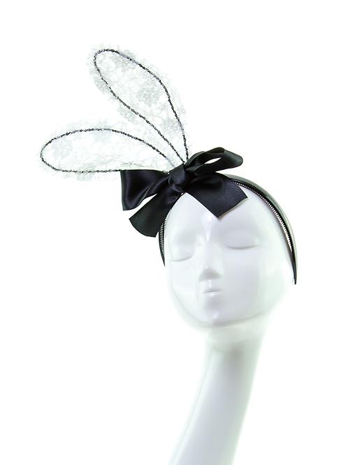 LACE BUNNY - Headband Headpiece