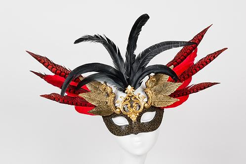 Hurley - Royal Feather Mask