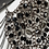 Thumbnail: Esclave - Leather and Glass Beaded Chain Collar