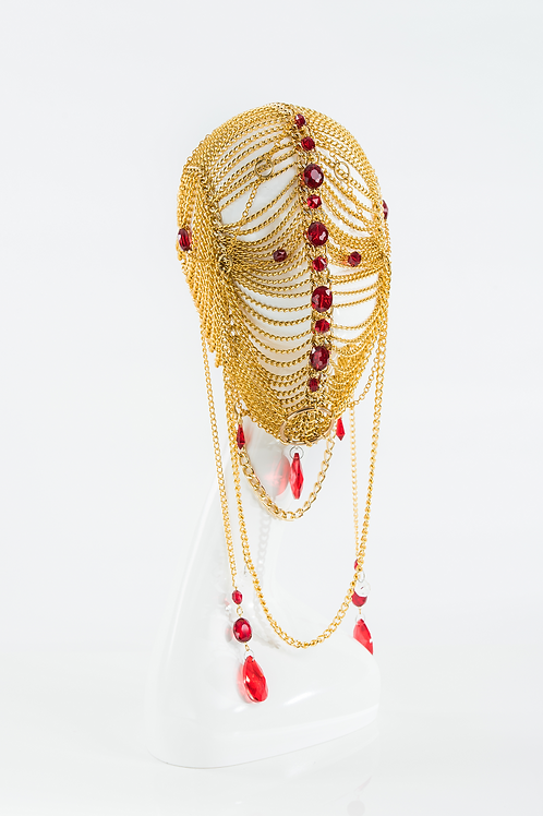 Chaste - Gold Chain Mask