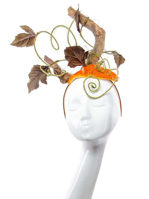 PUMPKIN - Couture Halloween Headpiece