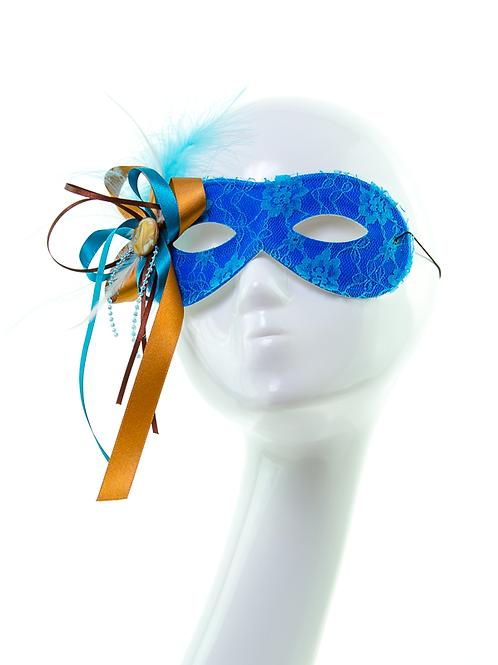 Aquamarine - Blue Lace Mask