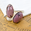 Thumbnail: RHODONITE - Gemstone Cufflinks