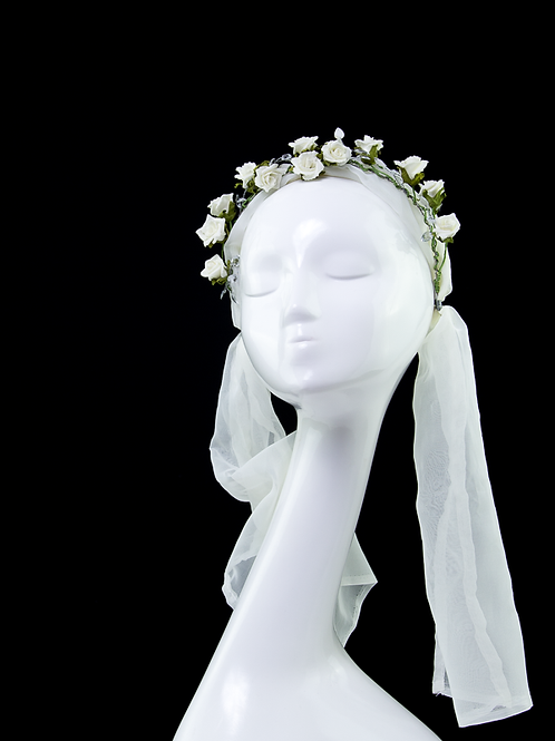 MAIDEN - Festival Wedding Headpiece