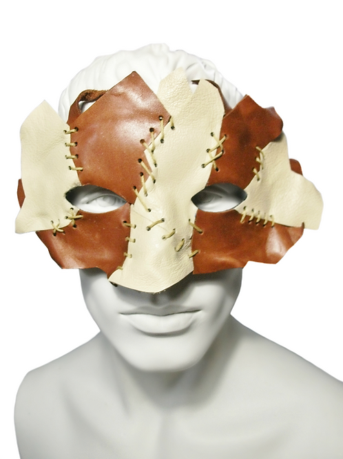 RAW HIDE -  Leather Mask