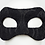 Thumbnail: Leonardo - Black Embroidered Mask