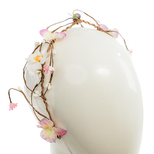 Melia - Floral Tiara