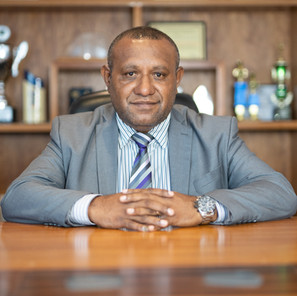 MR. ERIC MOSSMAN UVOVO, CHIEF EXECUTIVE OFFICER PNG TOURISM PROMOTION AUTHORITY