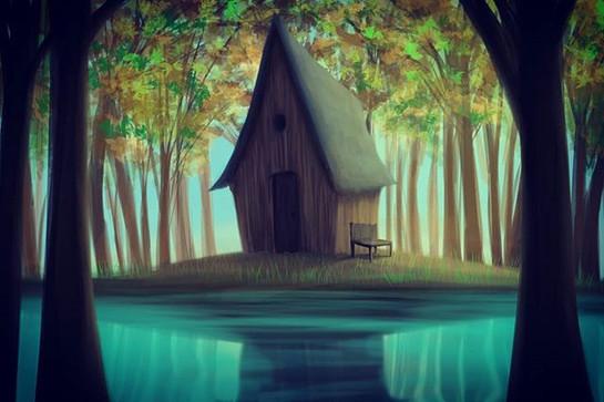 House. _#house #casademadera #bosque #pa