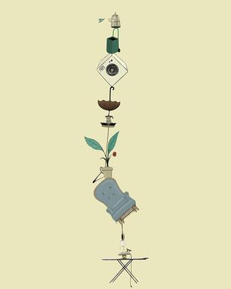Cosas y más cosas.__#ilustracion #ilustr