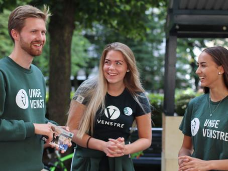 Vil du jobbe for Unge Venstre i valgkampen?