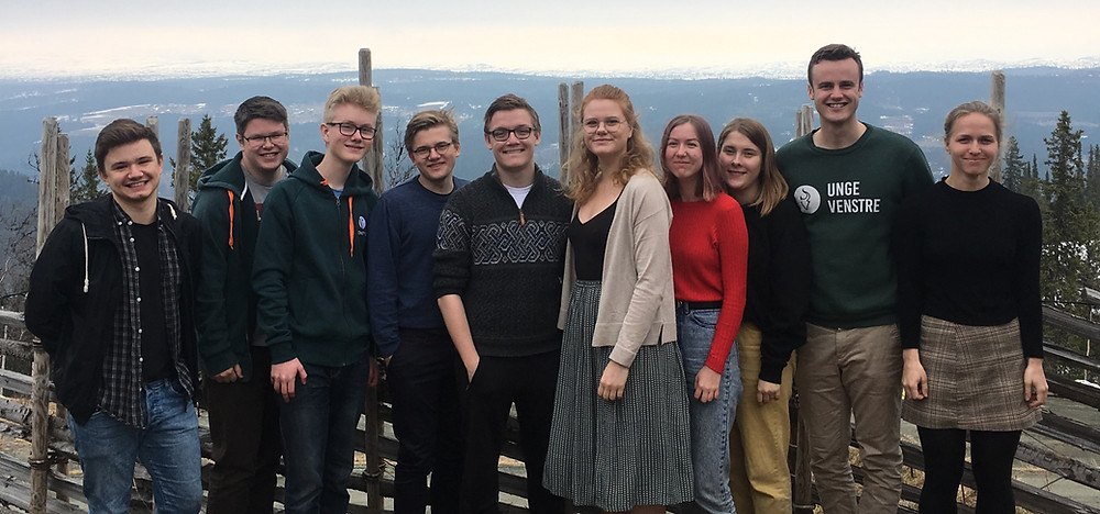 Deltakere på Nasjonalakademiet 2019