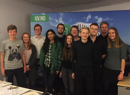 Ny ledertrio i Oslo Unge Venstre