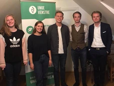 Nytt styre i Rogaland Unge Venstre