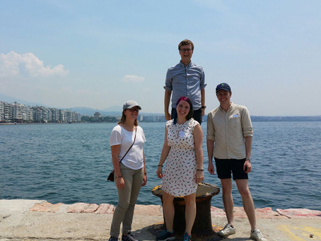Reisebrev fra IFLRY i Thessaloniki