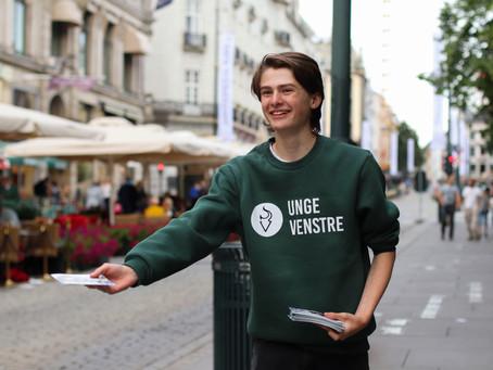Vil du bli Unge Venstres valgkampsekretær?