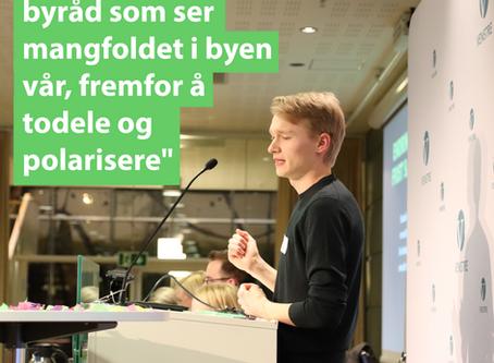 Simons innlegg til Oslo Venstres årsmøte 2018