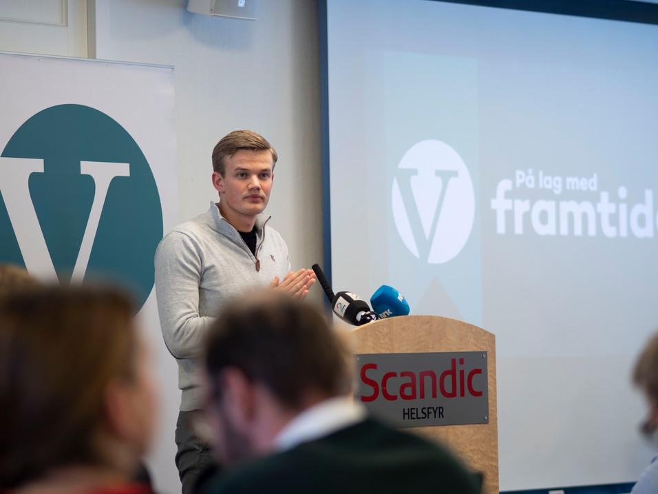 Lars Brandsås, 2. nestleder