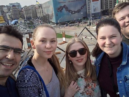 Reisebrev fra Kiev