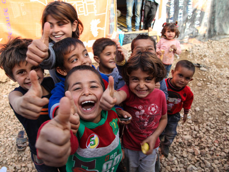 28 millioner barn på flukt