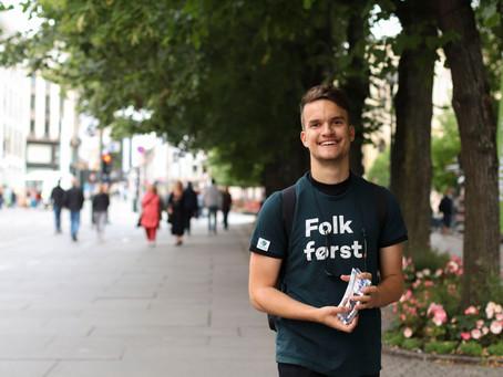 Vil du bli Innlandet Unge Venstre sin Ungdomskandidat til stortingsvalget 2021?