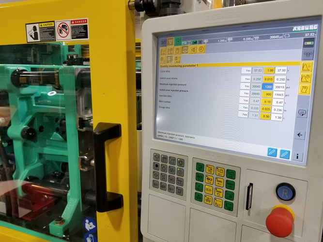 Quality Monitoring system for accurate and consistent parts