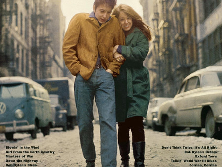 Portada: 'The Freewheelin' Bob Dylan' de Bob Dylan