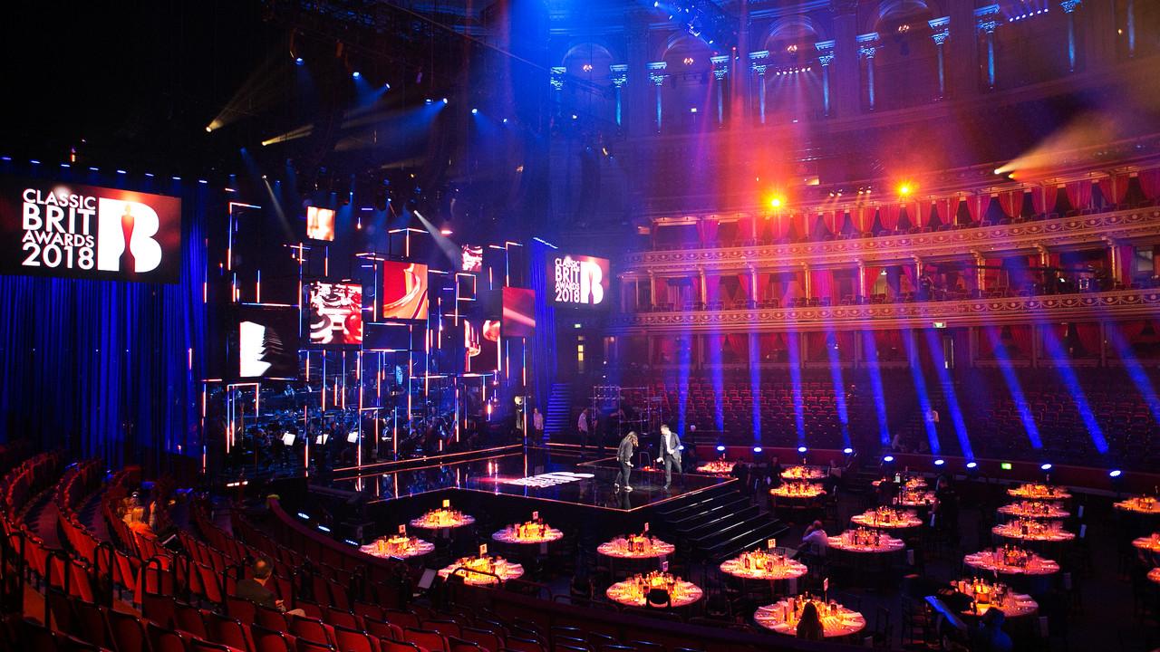 Classic Brit Awards  Hair: Michael Szostek Make-up: Jaysam Barbosa