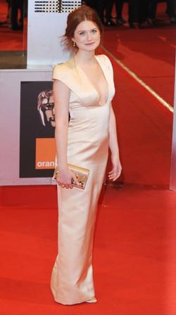 Bonnie Wright at BAFTA 2011