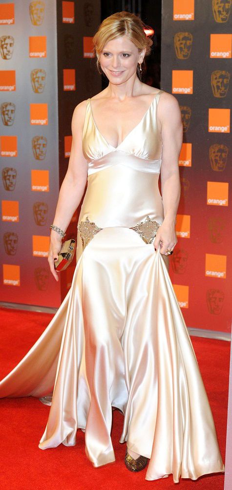 Emilia Fox at BAFTA 2011