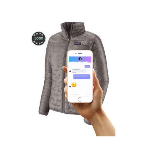 Mann Materials Intelligent Zipper Jackets