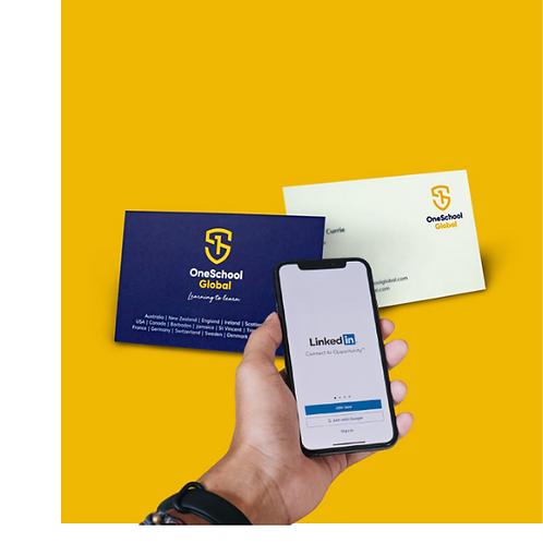 Mann Materials Intelligent Business Cards