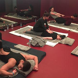 Spanu Massage training