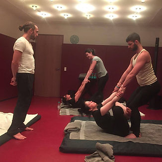 Massage training London