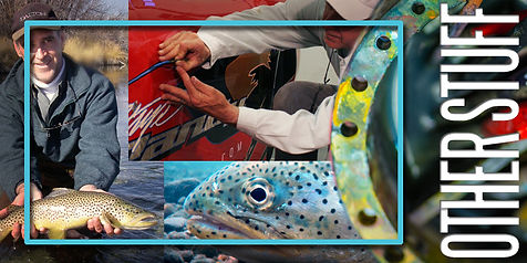 Here are some videos on fly fishing, pin striping, air brushing and other stuff.