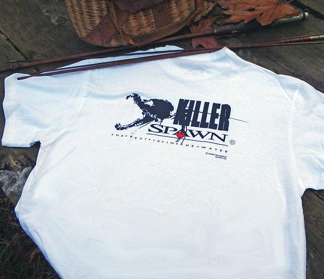 Killer Spawn Logo Short Sleeve Cotton Tee, White