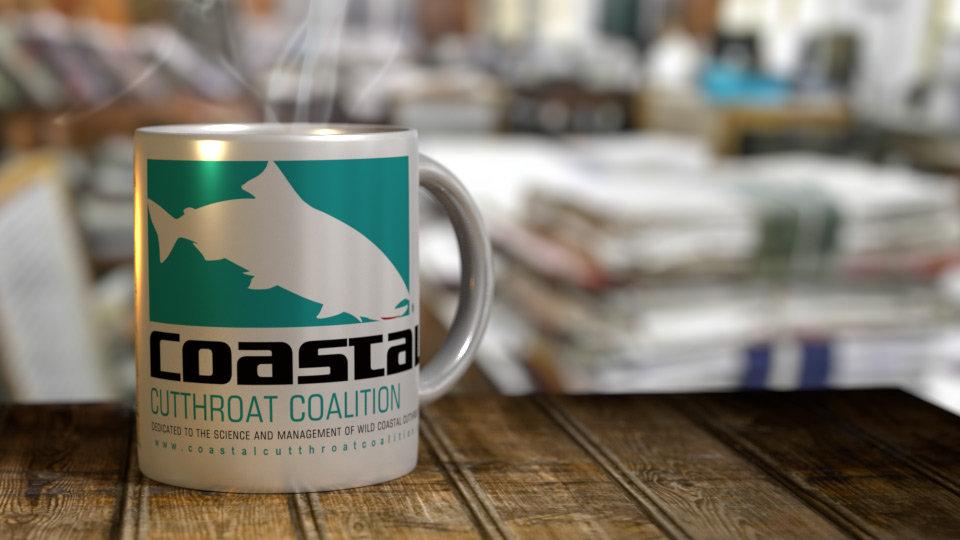 Coastal Cutthroat Coalition 11 oz. Ceramic Mug