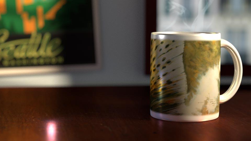 Morning Light 11 oz. Ceramic Mug