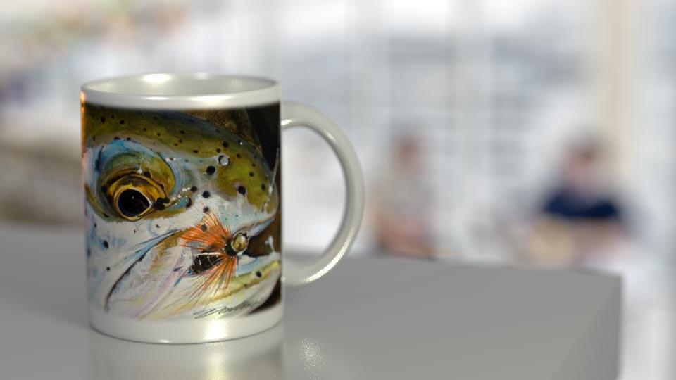 Fall Steelhead 11 oz. Ceramic Mug