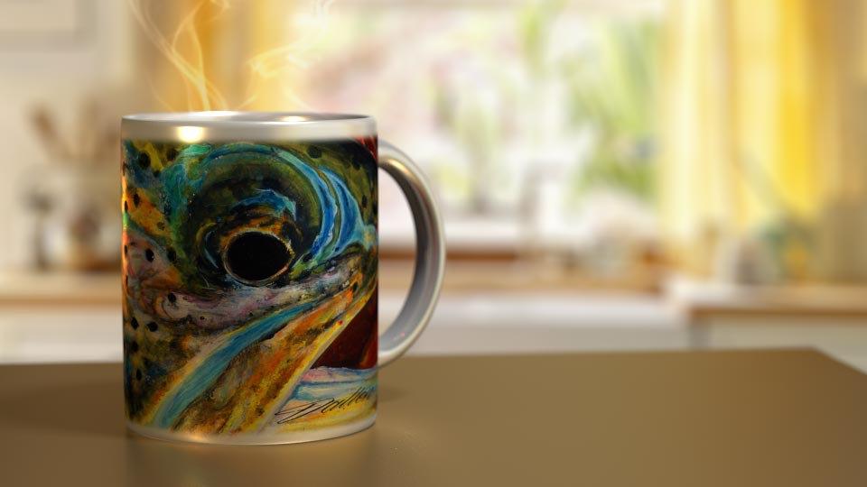 Fall Cutthroat 11 oz. Ceramic Mug