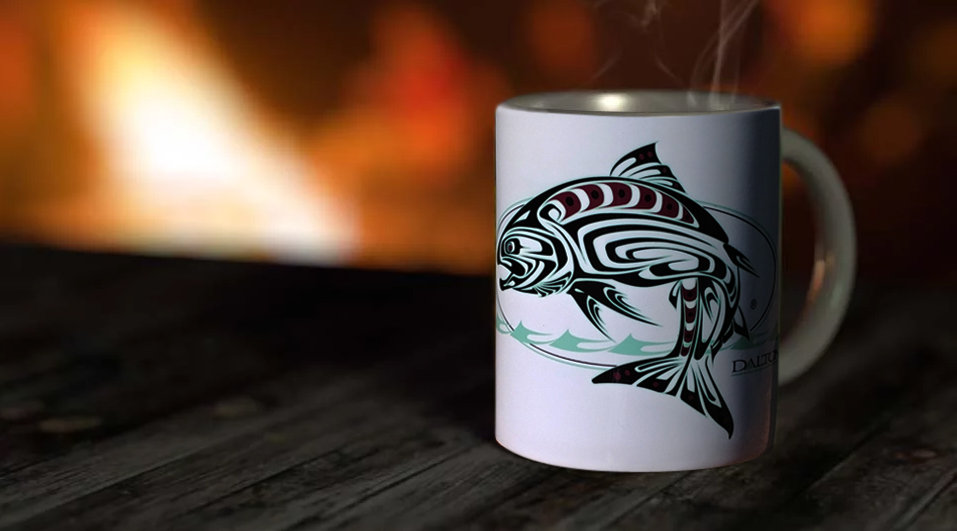 Spirit Salmon 11 oz. Ceramic Mug