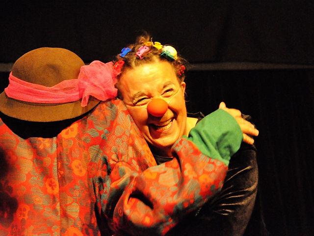 Clown Susi an Künstlerbörse in Thun.