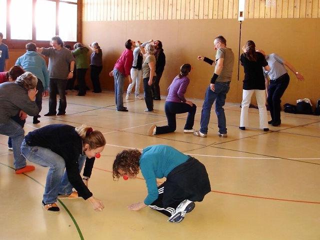 """Workshop für die Mitarbeiter von """"bergquelle""""."""
