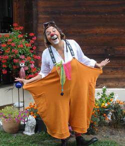 Clown Susi in Brig-Glis