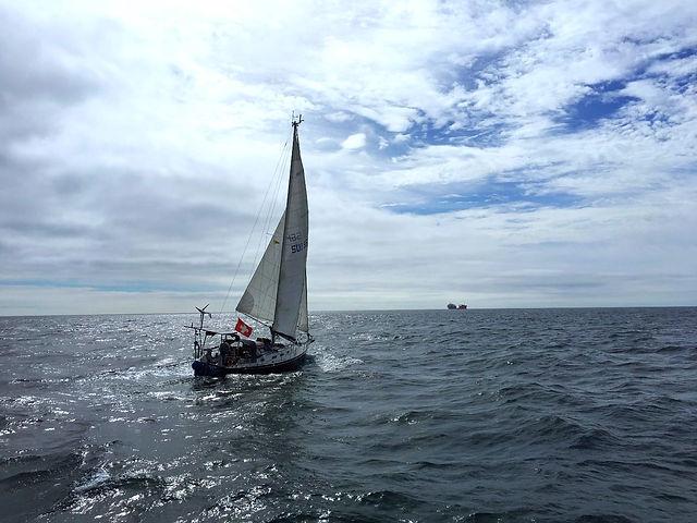 Familie Grundlehner unterwegs mit ihrem Schiff Laya