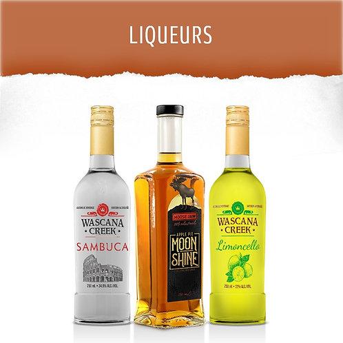 LIQUEURS, All natural, Made with cane sugar