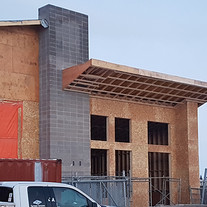 Main entrance construction start